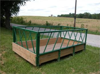5 x 10 Large Square Hay Bale Feeder