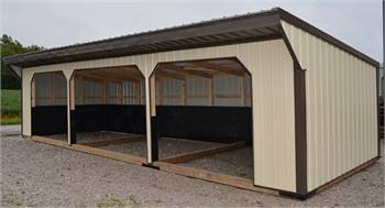 Metal Cattle Shelters
